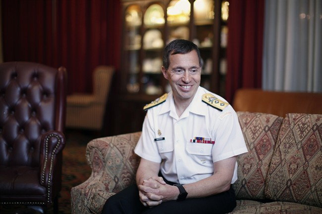 Rear Admiral Gilles Couturier