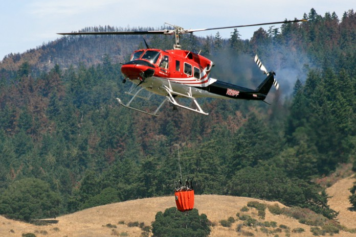 fire helicopter bucket