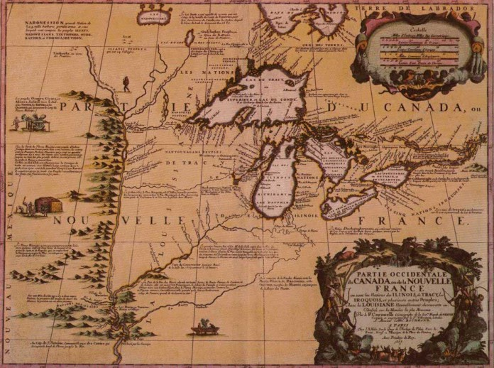 Old Canada Map