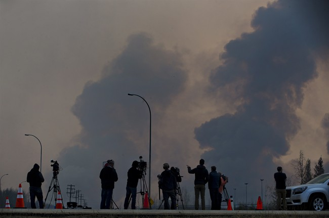 wildfires oilsands