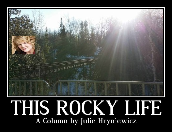 This Rocky Life Creek Poster