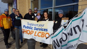 LCBO Protest