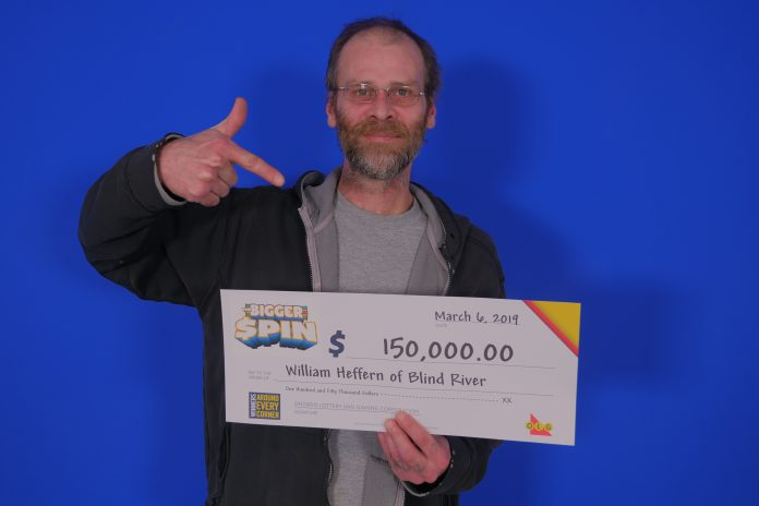 OLG Blind River Winner